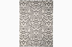 Benbrook Gray and Ivory Medium Rug
