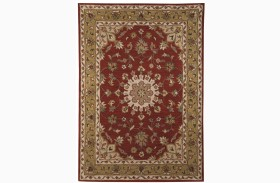 Maroney Red Large Rug