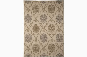 Haidar Brown and Gray Medium Rug