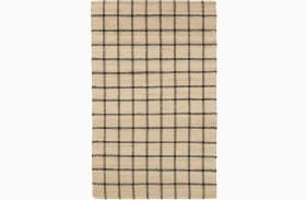 Agoura Hills Natural and Charcoal Large Rug