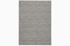 Norris Taupe and White Large Rug
