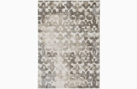 Jiro Brown and Cream Large Rug