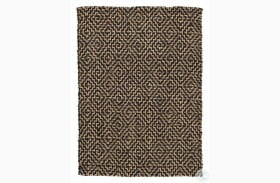 Broox Natural And Black Large Rug