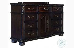Monte Carlo Rich Cocoa 9 Drawer Dresser