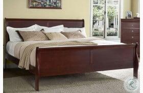 Orleans Cherry Sleigh Bed