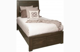 Ruff Hewn Brown Full Panel Bed