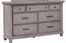 Prospect Hill Gray Drawer Dresser
