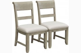 Prospect Hill Tan Dining Side Chair Set of 2