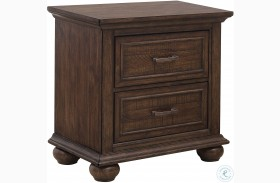 Chatham Park Brown Nightstand