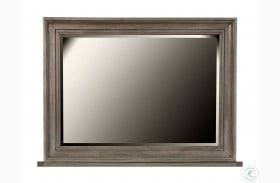 Chatham Park Grey Landscape Mirror