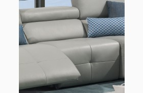 S300 Italian Leather Armless Chair