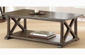 Southfield Weathered Pine Cocktail Table