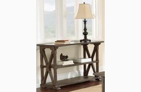 Southfield Weathered Pine Sofa Table