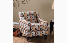 Pennington Ogee Pattern Chair