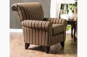 Arklow Stripes Pattern Chair