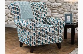 Arklow Geometric Pattern Chair