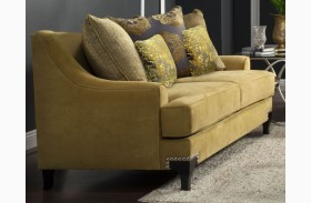 Viscontti Gold Loveseat