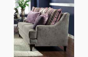 Viscontti Vintage Taupe Loveseat