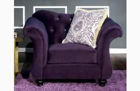 Antoinette Purple Chair