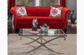 Zaffiro Ruby Red Sofa