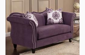 Zaffiro Lavender Loveseat