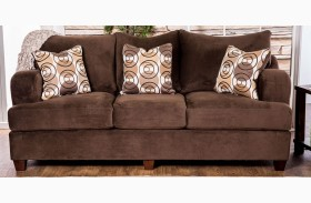 Wessington Chocolate Sofa
