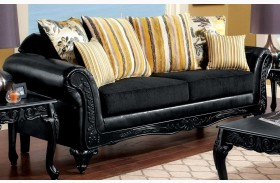 Thelon Black Sofa