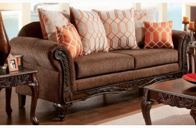 Bechet Brown Sofa
