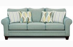 Brubeck Soft Teal Sofa