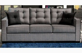 Ravel I Gray Fabric Sofa
