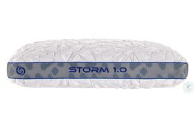 Storm White Personal Performance Firm Pillow