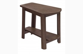Generations Chocolate Tapered Accent Table