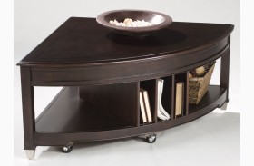 Darien Pie Shaped Cocktail Table