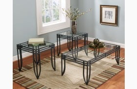 Exeter 3-in-1 Pack Occasional Table Set