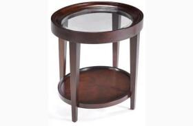 Carson Oval End Table