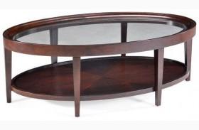 Carson Oval Cocktail Table