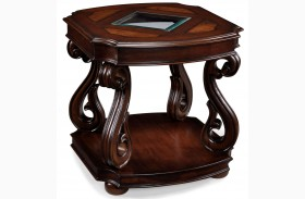 Harcourt Rectangular End Table