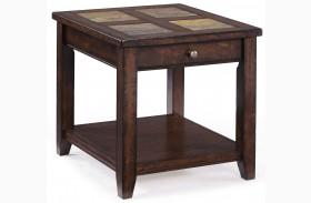 Allister Rectangular End Table