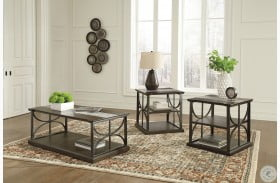 Carisbry Brown And Gray Occasional Table Set