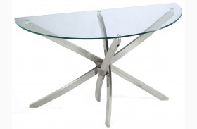 Zila Demilune Sofa Table