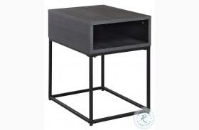 Yarlow Black End Table