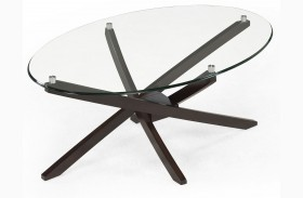 Xenia Oval Cocktail Table