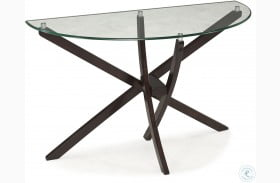 Xenia Demilune Sofa Table