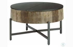Bluemound Gray And Brown Coffee Table
