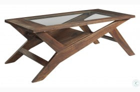 Charzine Warm Brown Coffee Table