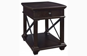 Sorrento Rectangular End Table