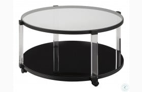 Delsiny Black Coffee Table