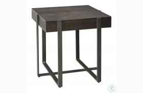 Drewing Dark Brown End Table