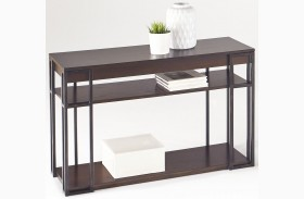 Citation and Metal Sofa/Console Table