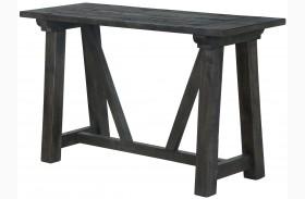 Bridgewater Weathered Charcoal Rectangular Sofa Table